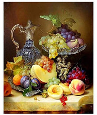 Fruits Wine Diy Paint By Numbers Kits PBN00166
