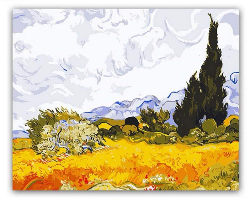 Van Gogh Landscape Diy Paint By Numbers Kits VM90772