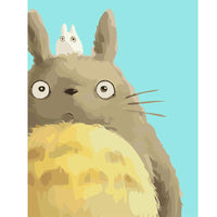 The Totoro Series Cartoon Diy Paint By Numbers Kits PBN92451