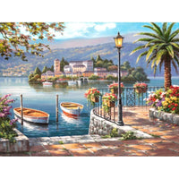 Seaboat Diy Paint By Numbers Kits PBN97614