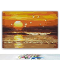Sunset Landscape Diy Paint By Numbers Kits PBN93094