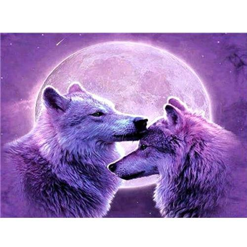Animal Wolf Diy Paint By Numbers Kits PBN91746