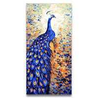 Peacock Diy Paint By Numbers Kits VM92244