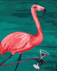 Flamingo Diy Paint By Numbers Kits PBN97949