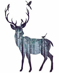 Deer Diy Paint By Numbers Kits YM-4050-262