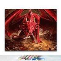 Dragon Diy Paint By Numbers Kits VM94385