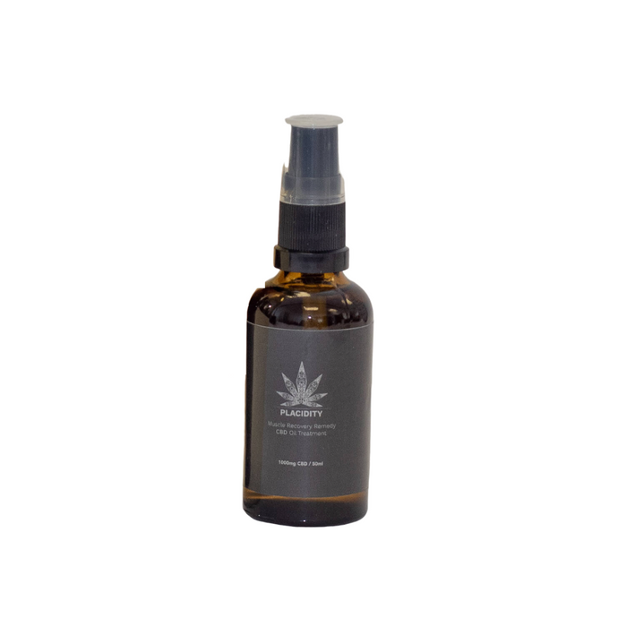 Idir highly concentrated CBD body oil, perfect pot-workout recovery revives itchy and sore muscles