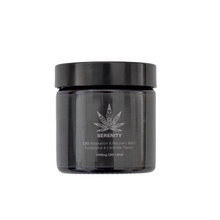 Load image into Gallery viewer, CBD Balm High Strength Eucalyptus & Lavender flavour - 1000mg CBD / 60ml Unique blend of all-natural ingredients instantly hydrates and moisturises the skin. Baume Hydratant de la marque Idir CBD. Hydratation et relaxation intense