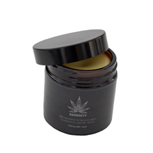 Load image into Gallery viewer, CBD Balm High Strength Eucalyptus & Lavender flavour - 1000mg CBD / 60ml Unique blend of all-natural ingredients instantly hydrates and moisturises the skin. Baume Hydratant de la marque Idir CBD. Hydratation et relaxation intense a l'eucalypstus et la lavande
