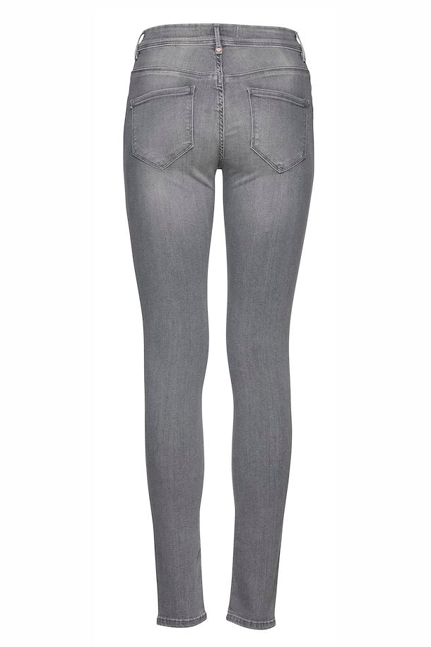 Ichi Erin Skinny Jeans light grey