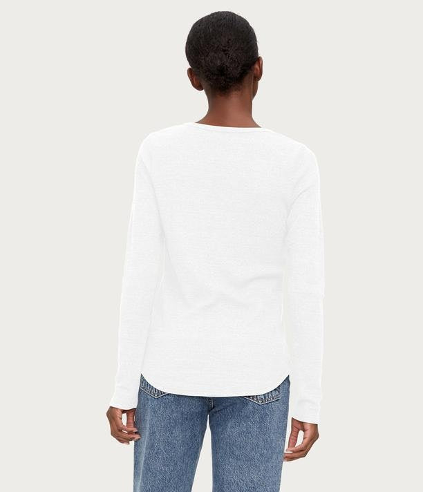 MICHAEL STARS Briann Thermal Henley Top