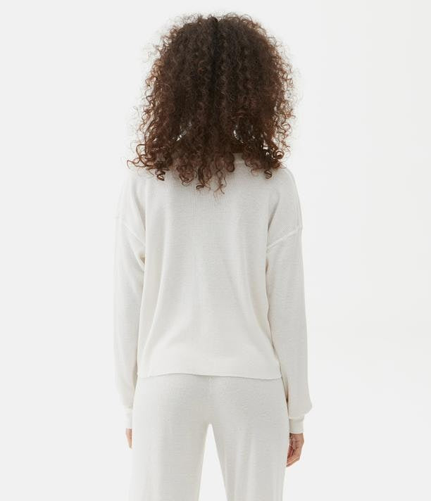 Delia Boxy Thermal Tee
