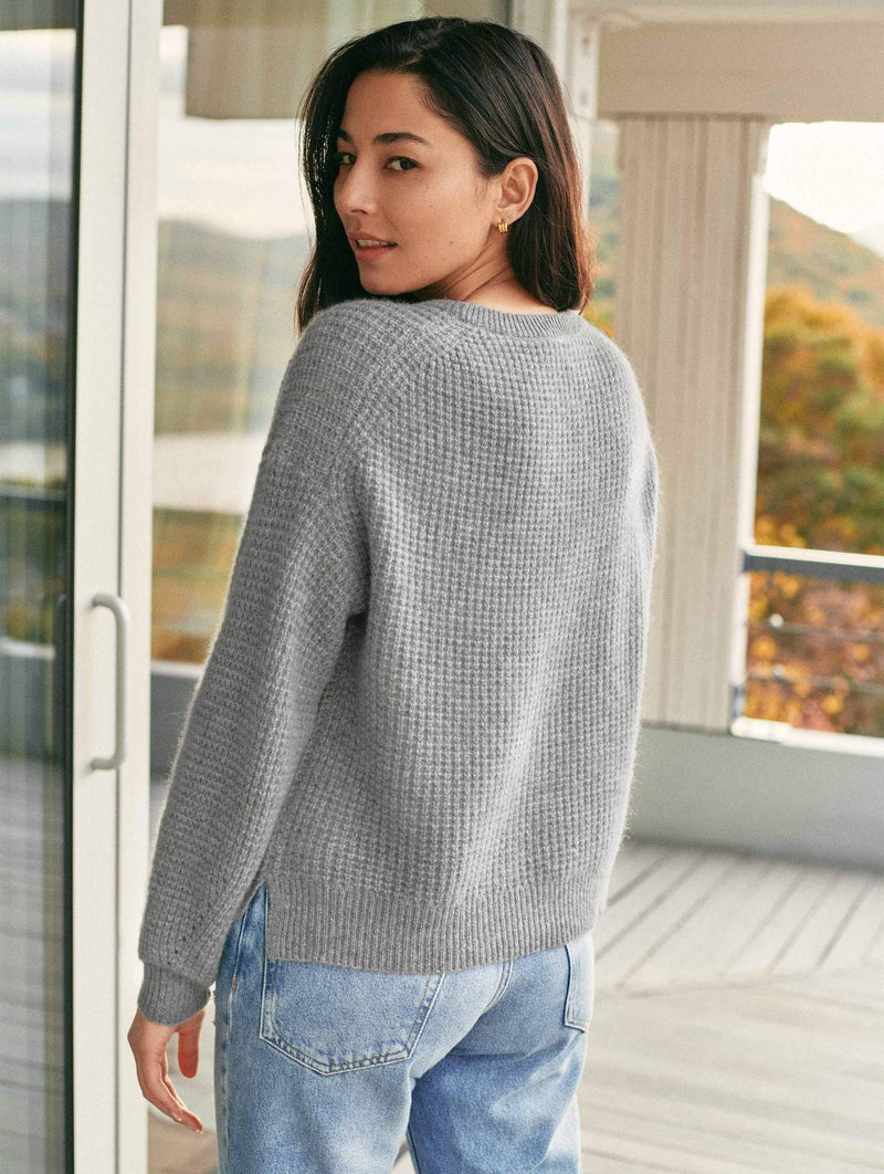 Luxe Thermal Cashmere Sweater
