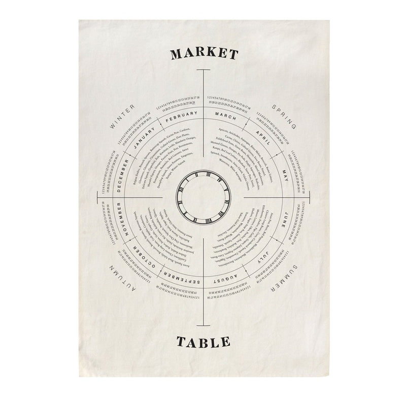 Market Table Linen Tea Towel