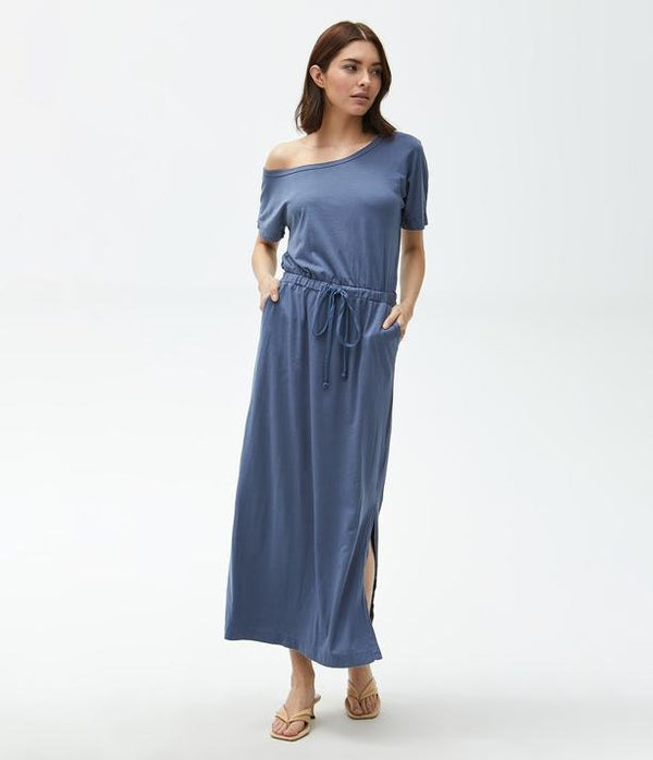 MICHAEL STARS Chantel Maxi Dress - Lake
