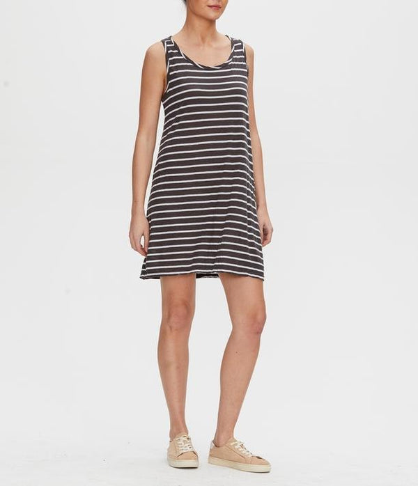 MICHAEL STARS Becca Striped dress