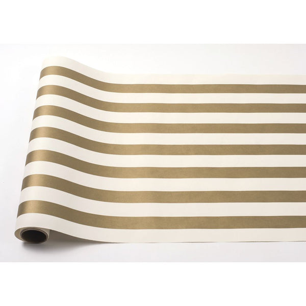 HESTER & COOK Gold Classic Striped Runner