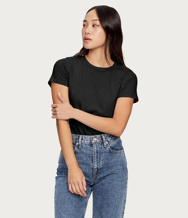 MICHAEL STARS Colleen Classic Crew Tee - Oxide