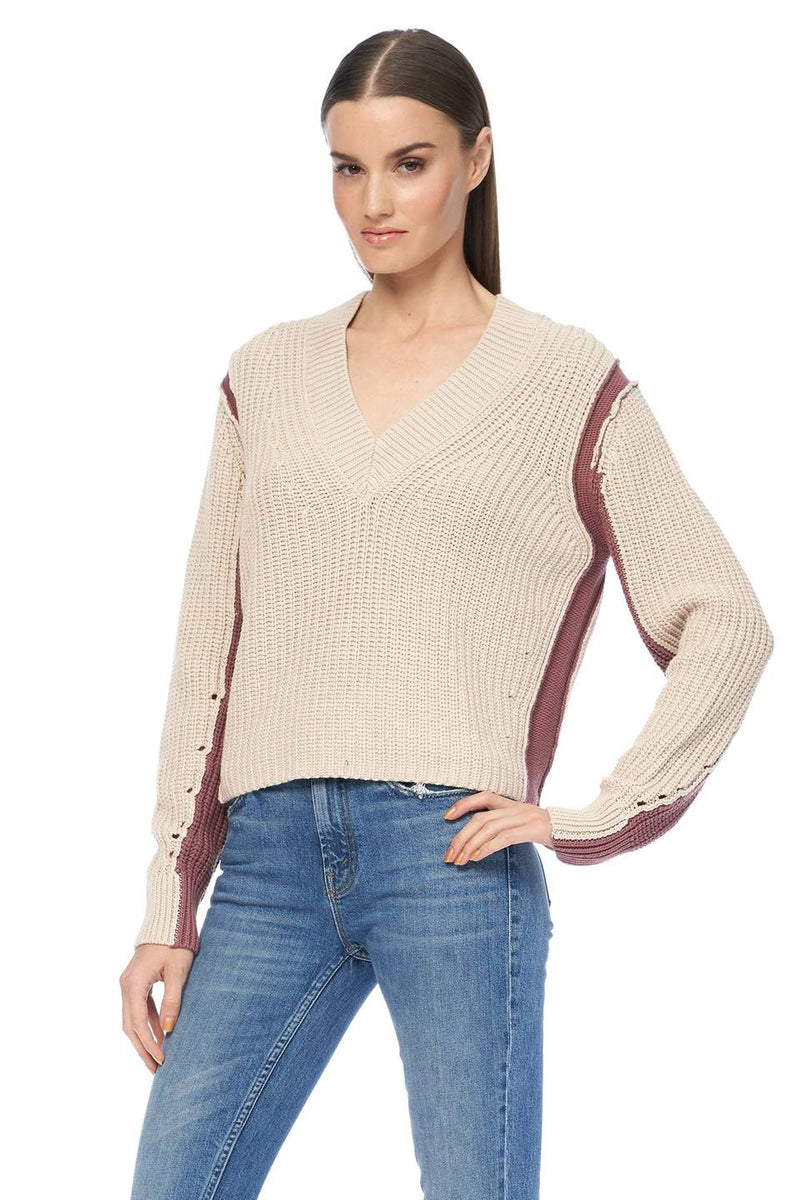 360 SWEATER Violet Sweater