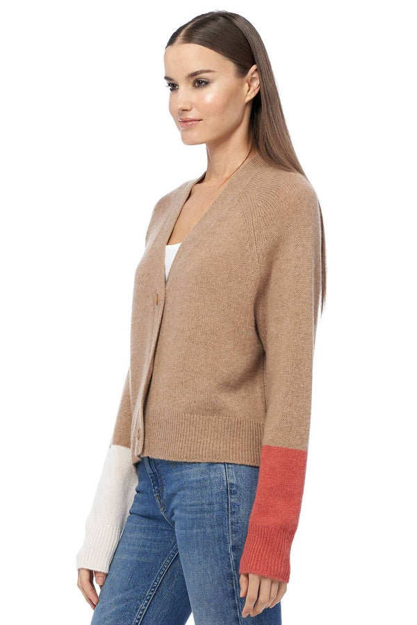 Elsa colorblock Cardigan