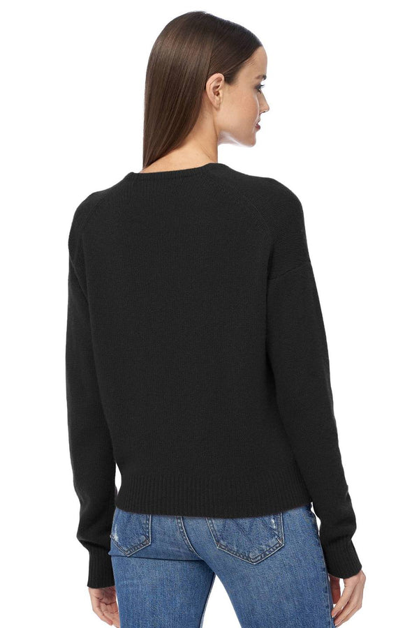 Cassian Plunging V-Neck Sweater