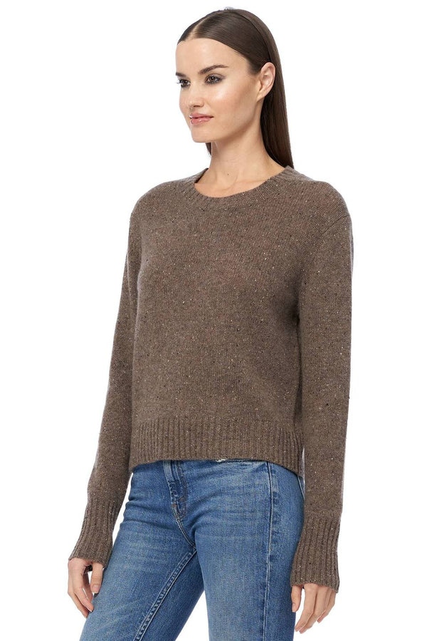Lanore Speckled Knit Sweater