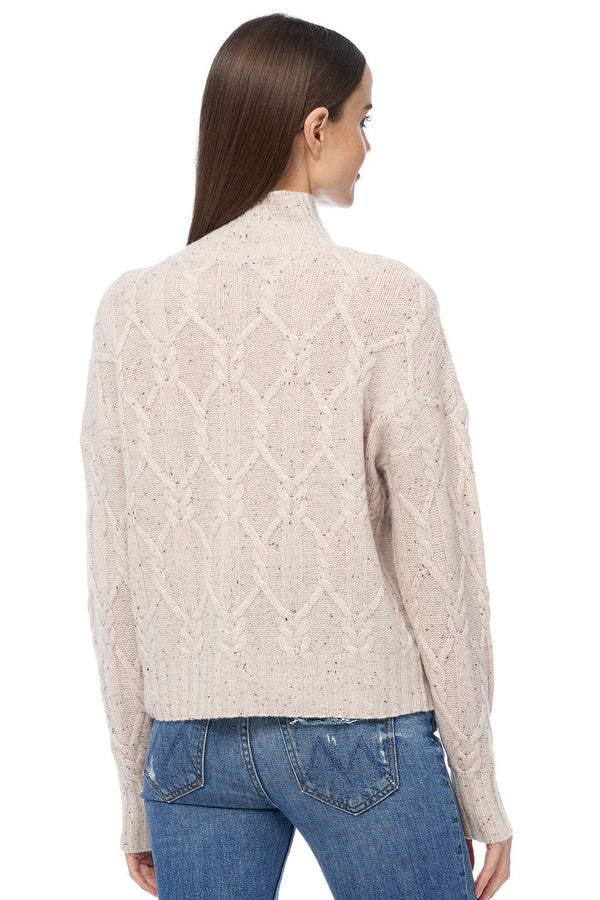 Miriam Knit Patter Pullover Sweater