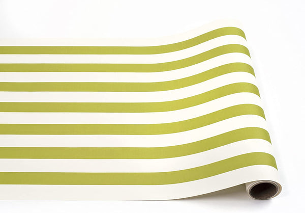 HESTER & COOK Green Stripe Runner