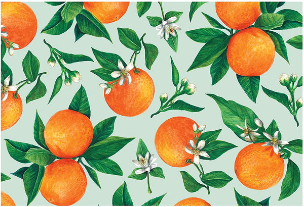 HESTER & COOK Orange Orchard Placemat