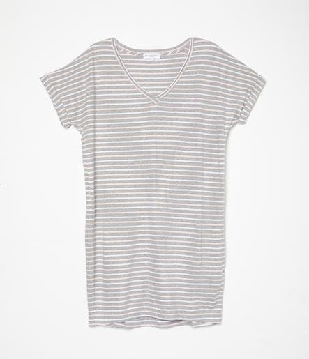 MICHAEL STARS Cara V-Neck Tee Dress
