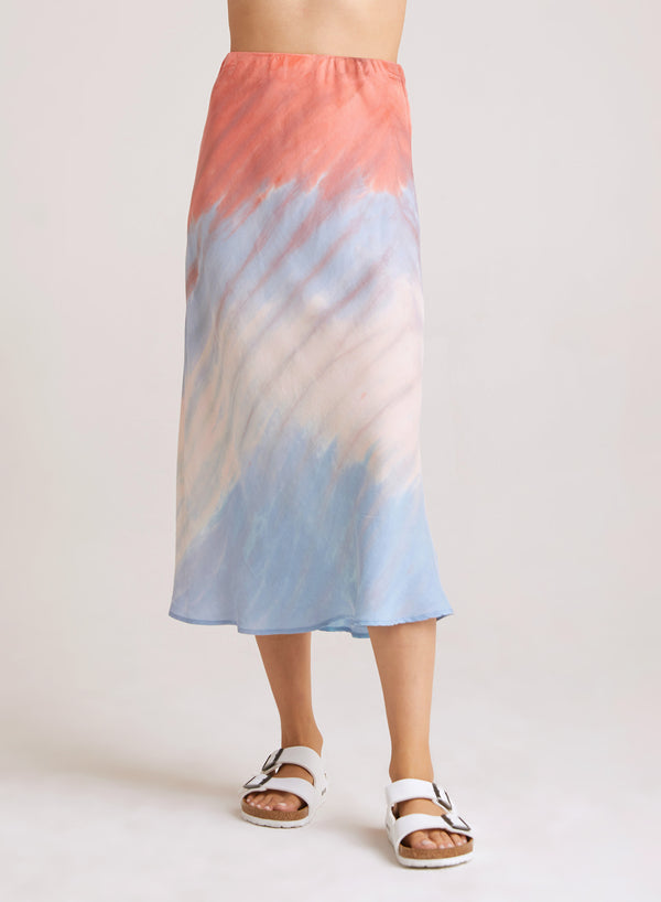 BELLA DAHL Bias Cut Midi Skirt