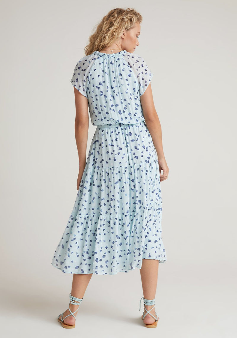 BELLA DAHL Flutter Raglan Tier Dress