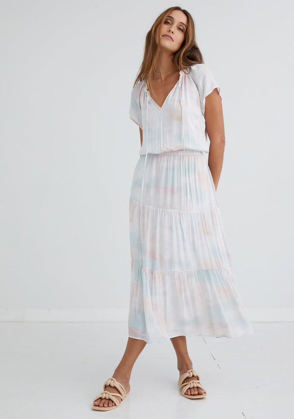 BELLA DAHL Raglan Maxi Dress