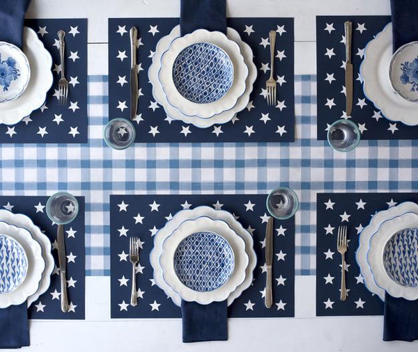 HESTER & COOK Stars Placemat
