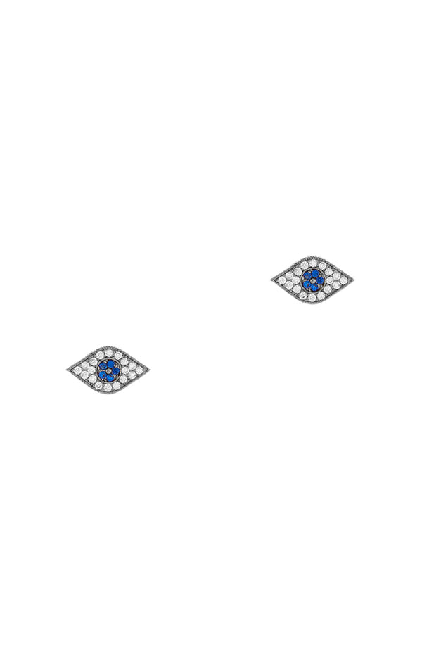 Evill Eye Stud Earrings