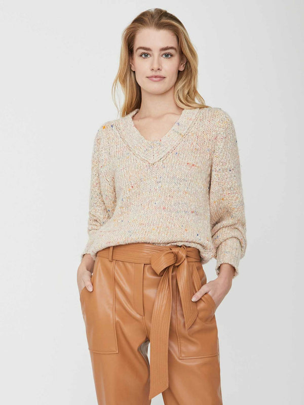 BROCHU WALKER Andrain vneck Sweater