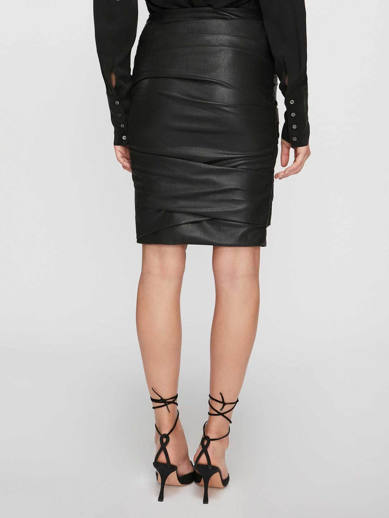Gina Ruched Pencil Skirt