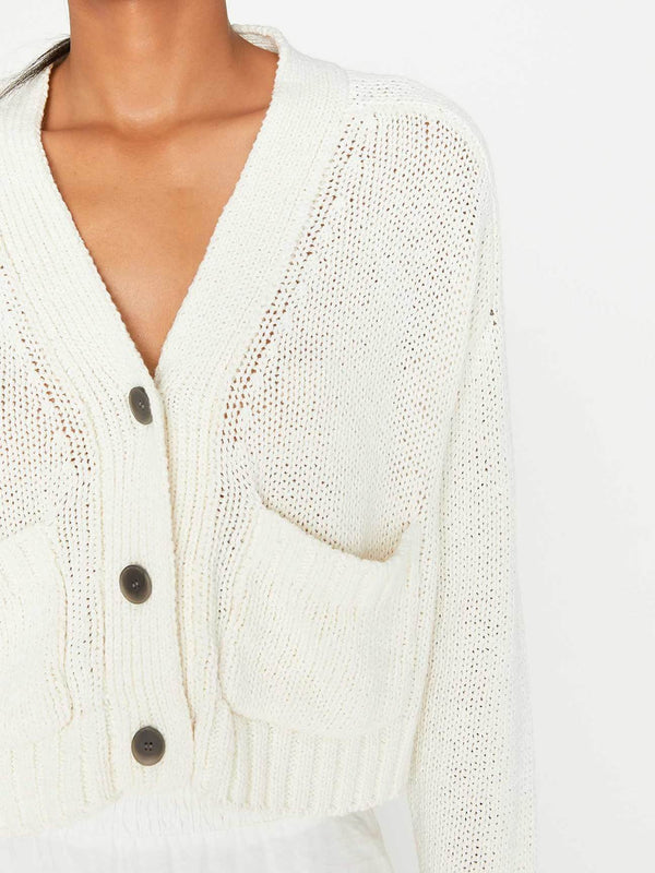 BROCHU WALKER Cropped Cardigan