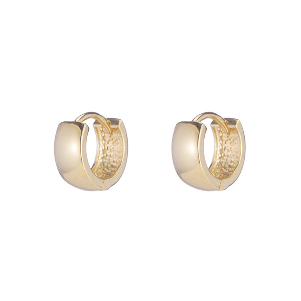 ARIEL GORDON Fat Tire Huggie Earrings