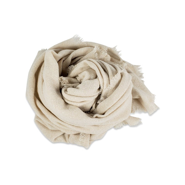 Cozy Solid Scarf - Cream