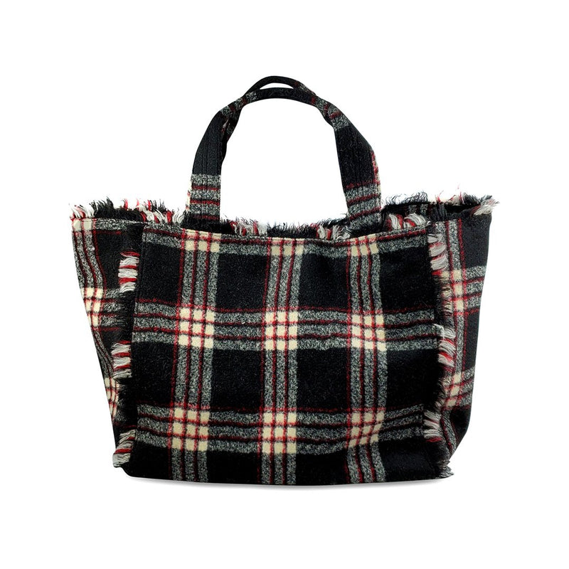 Flannel Weekend Tote