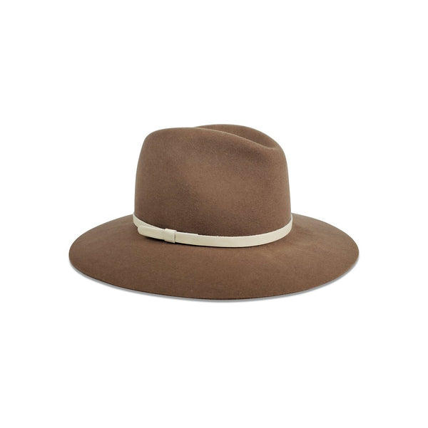 Madison Hat Taupe with Cream
