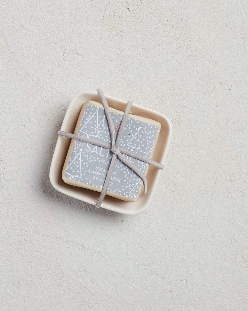 Bar Soap in Dish - Salt Aire