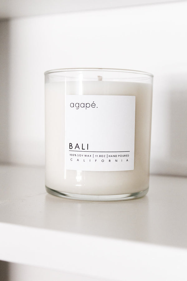 AGAPE CANDLES Bali Candle