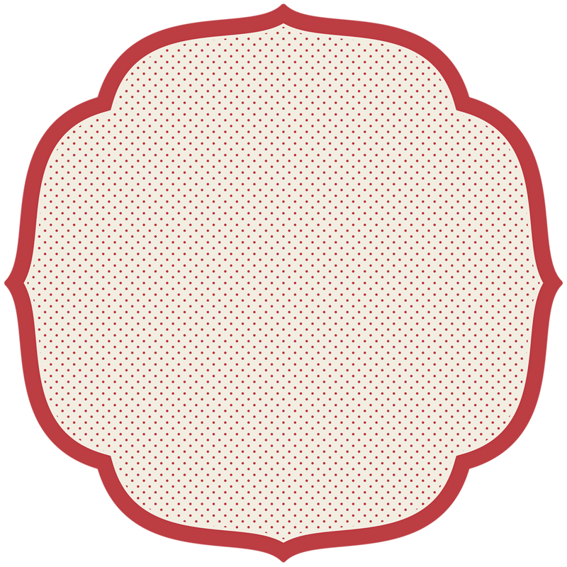 Die Cut Swiss Dot Placemat