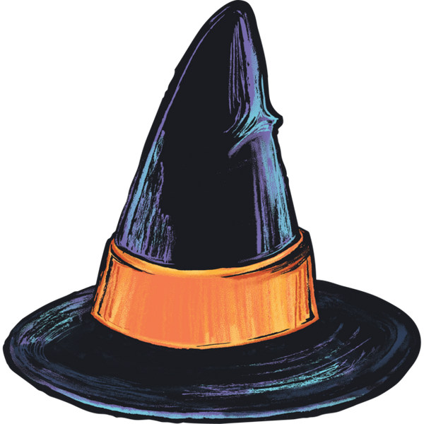 HESTER & COOK Witch Hat Table Accent