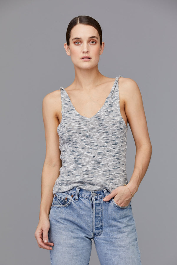 LNA CLOTHING Twisted strap tank
