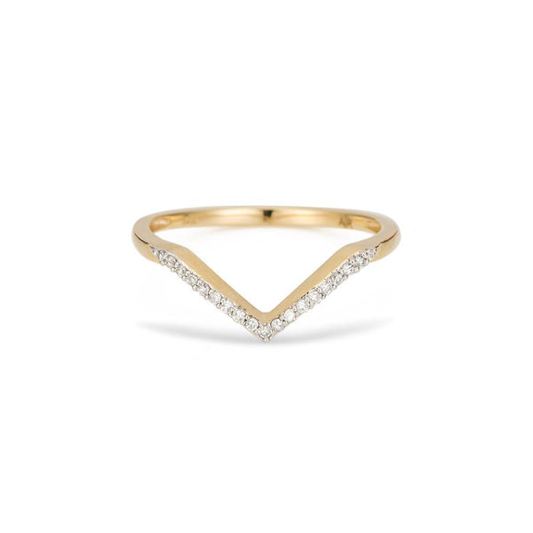 ADINA REYTER Pave Diamond V Ring