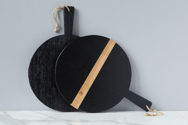 Black Round Mod Charcuterie Small