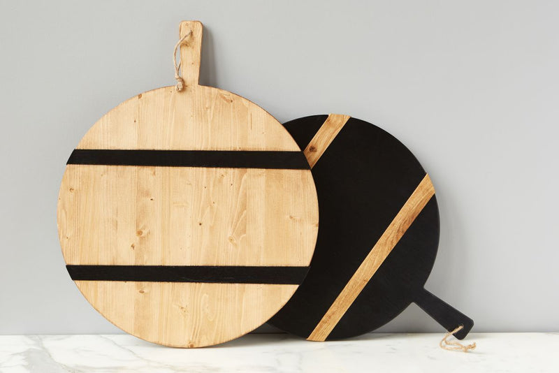ETU HOME Black Beech Round Board